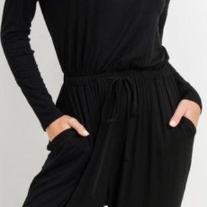 Cherish Pants - Long Sleeve Drawstring Jumpsuit~New Arrival